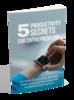 Thumbnail 5 Productivity Secrets For Entrepreneurs